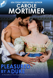 carole mortimer's pleasured by a duke