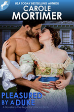 carole mortimer's PLEASUED BY A DUKE